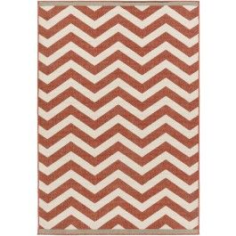 Ziggy Indoor/Outdoor Rug, Ruby