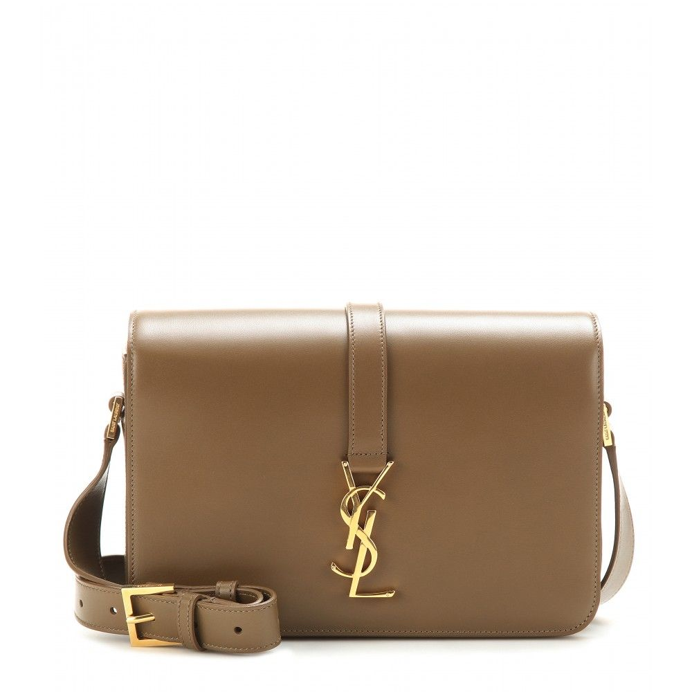 Saint Laurent - Monogram Université leather shoulder bag - mytheresa ... d0746bde99d64