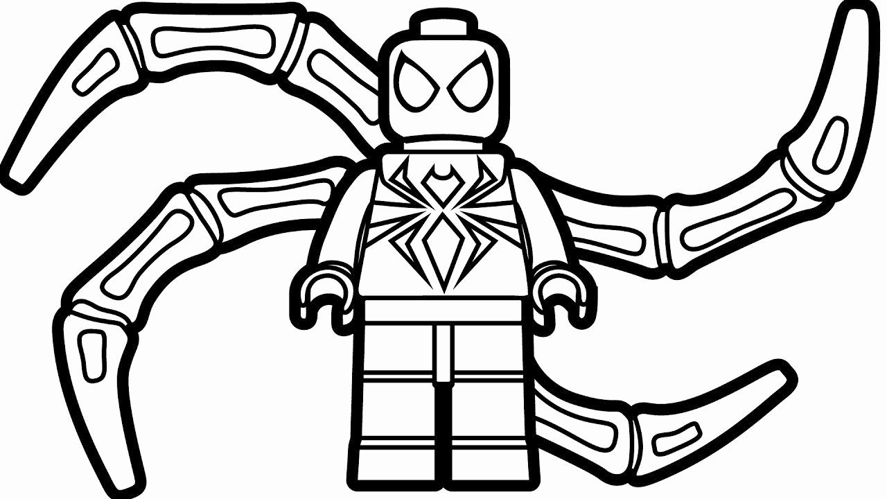 Coloring Pages Design Heart Lovely Lego Spiderman Coloring Pages