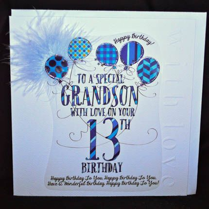 Happy 13th Birthday Grandson Pictures To Pin On Pinterest