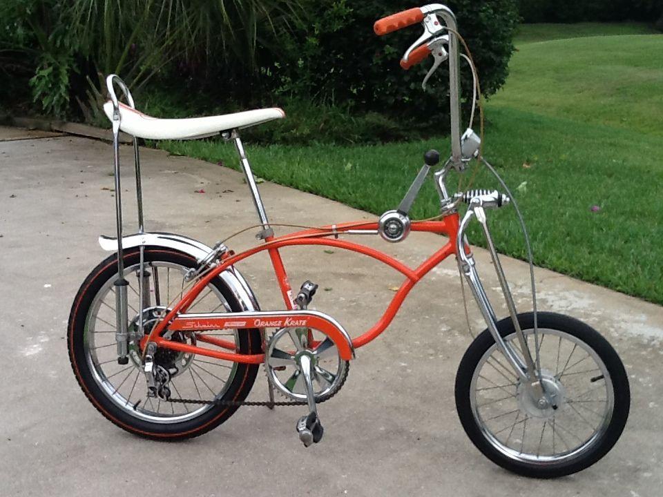 1968 Schwinn Orange Krate 5 Speed with original paint 60
