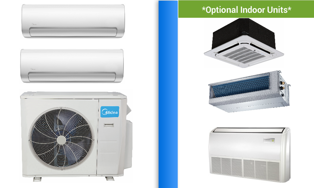 Midea 2×18000btu in If you are