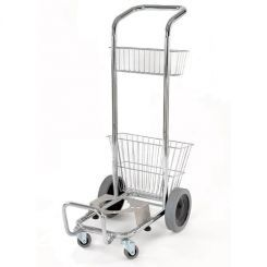 The Daimer Steam Cleaner Push Cart Allows For Easy Portability Of Kleenjet Pro Plus 200s 300cs Or Mega 500v And