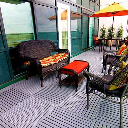 Pvc Deck Tiles Are Easy To Install And Will Not Harbor Mold Or Mildew More