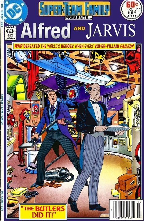 Super Team Family The Lost Issues Alfred And Jarvis