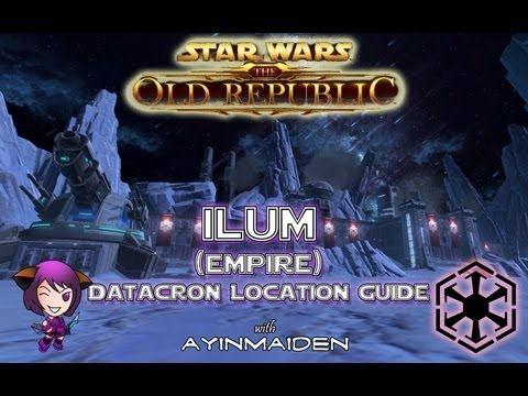 Empire Ilum Swtor Datacron Location Guide Pinterest Empire