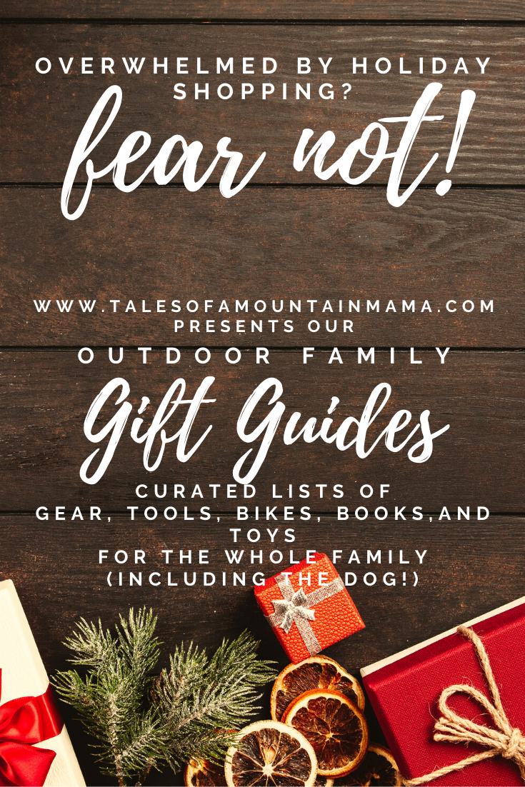 Gift Guides + Giveaways for Outdoor Families | Gift guide ...