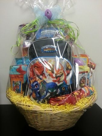 Huge skylanders giant easter basket giveaway skylanders easter huge skylanders giant easter basket giveaway 5 minutes for mom negle Image collections
