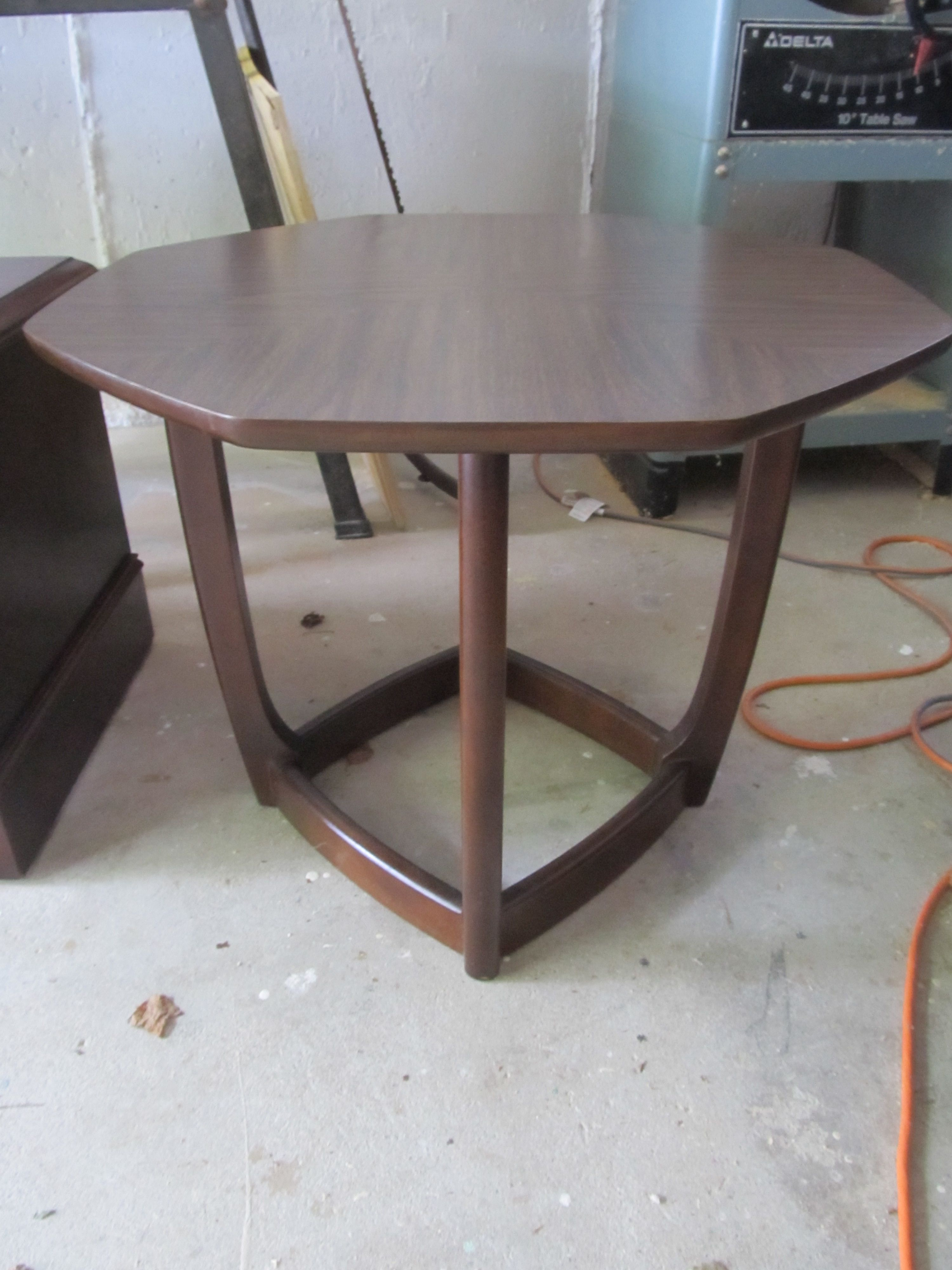 60 S Or 70 S Octagonal Formica Top Table Dining Table Table