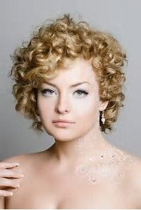 Image Result For Best Hairstyles For Curly Hair And Round Face And Short Neck Short Wedding Hair Short Natural Curly Hair Curly Hair Styles