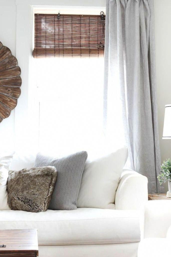 72 Modern Farmhouse Curtains for Living Room Decorating ...