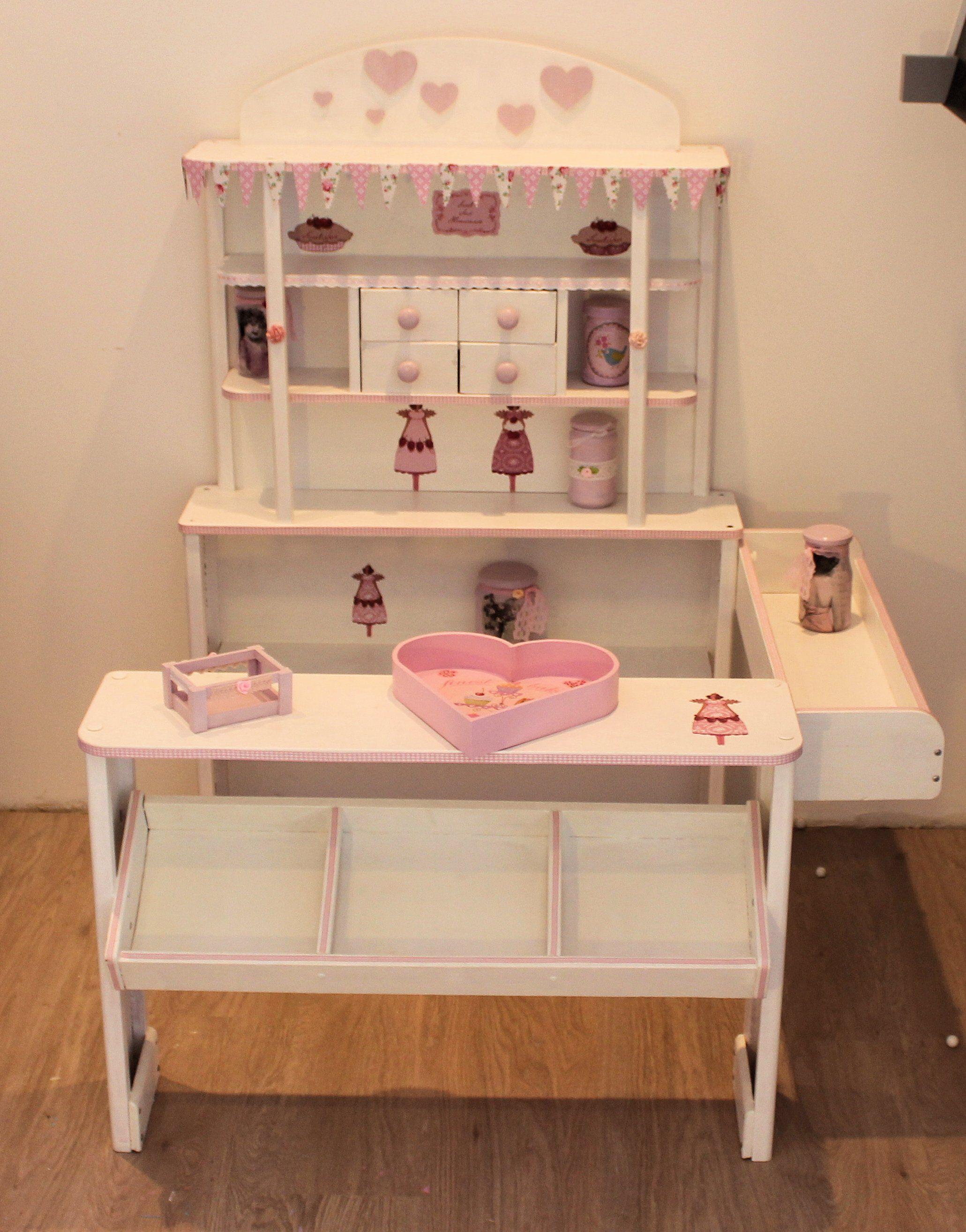 kaufladen weiß rosa tilda | kaufladen | pinterest | paper dolls