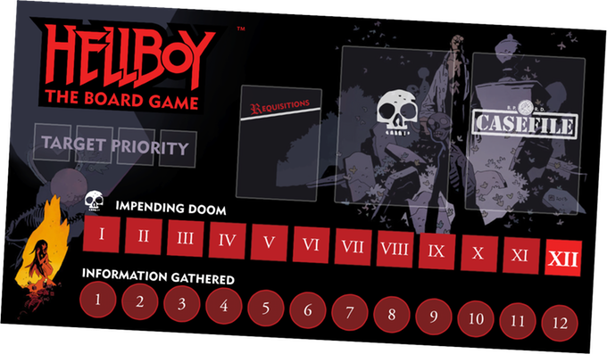 HQ Card Hellboy The Board Game Board games, Games