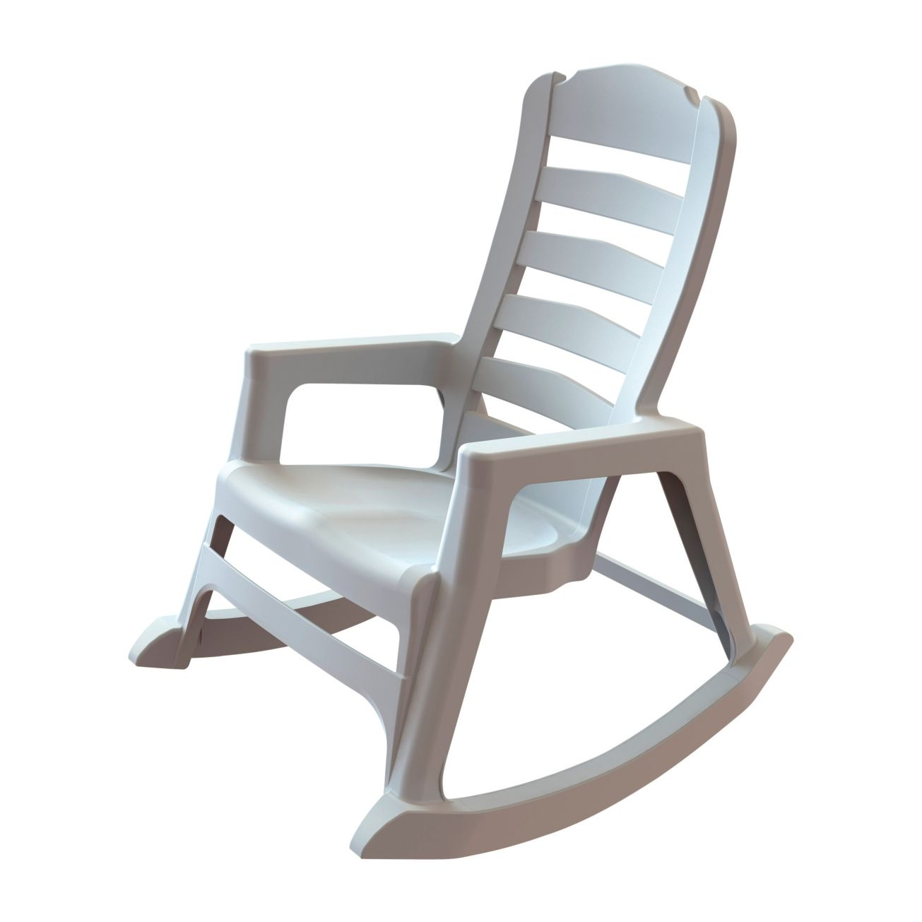 Miraculous Adams Stacking Resin White Rocking Chair 8080 48 3700 Inzonedesignstudio Interior Chair Design Inzonedesignstudiocom