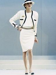 Tailleur Chanel   Style   Chanel, Fashion, Chanel jacket 018c56fcc9b