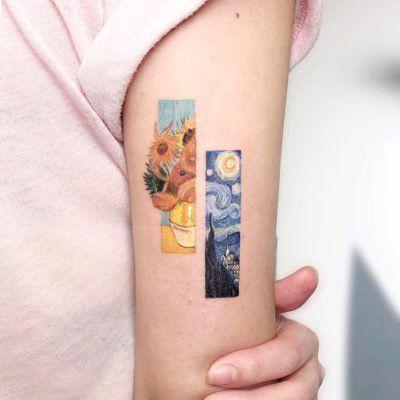 Photo of Artista realiza minitatuajes que parecen pequeñas pinturas sobre la piel