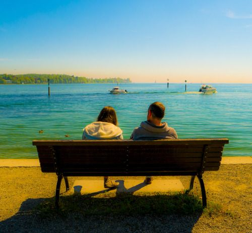 the longer they were discussing their relationship the more they felt like vessels going in opposite directions on the endless lake of life