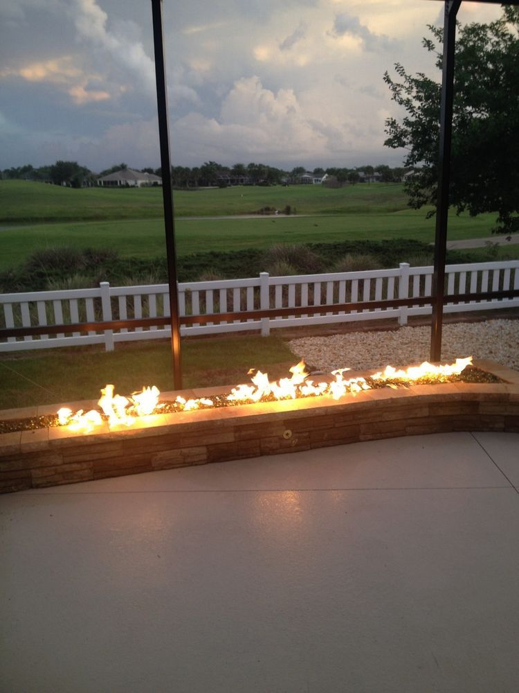 Details about tb98ck deluxe propane diy gas fire pit kit