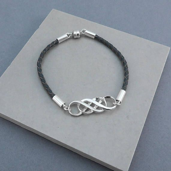 Our Handmade Leather Infinity Bracelets Make Perfect Gifts For Your