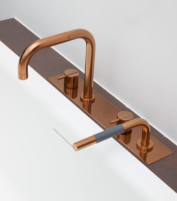 Arne Jacobsen Vola Bathroom Products In Copper / Rose Gold: Available From  UkBathrooms! Wohnhaus In Heppenheim
