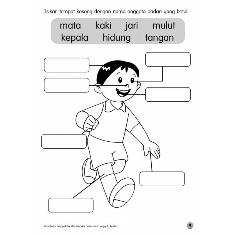 latihan bahasa melayu tadika 6 tahun - Google Search | Preschool ...