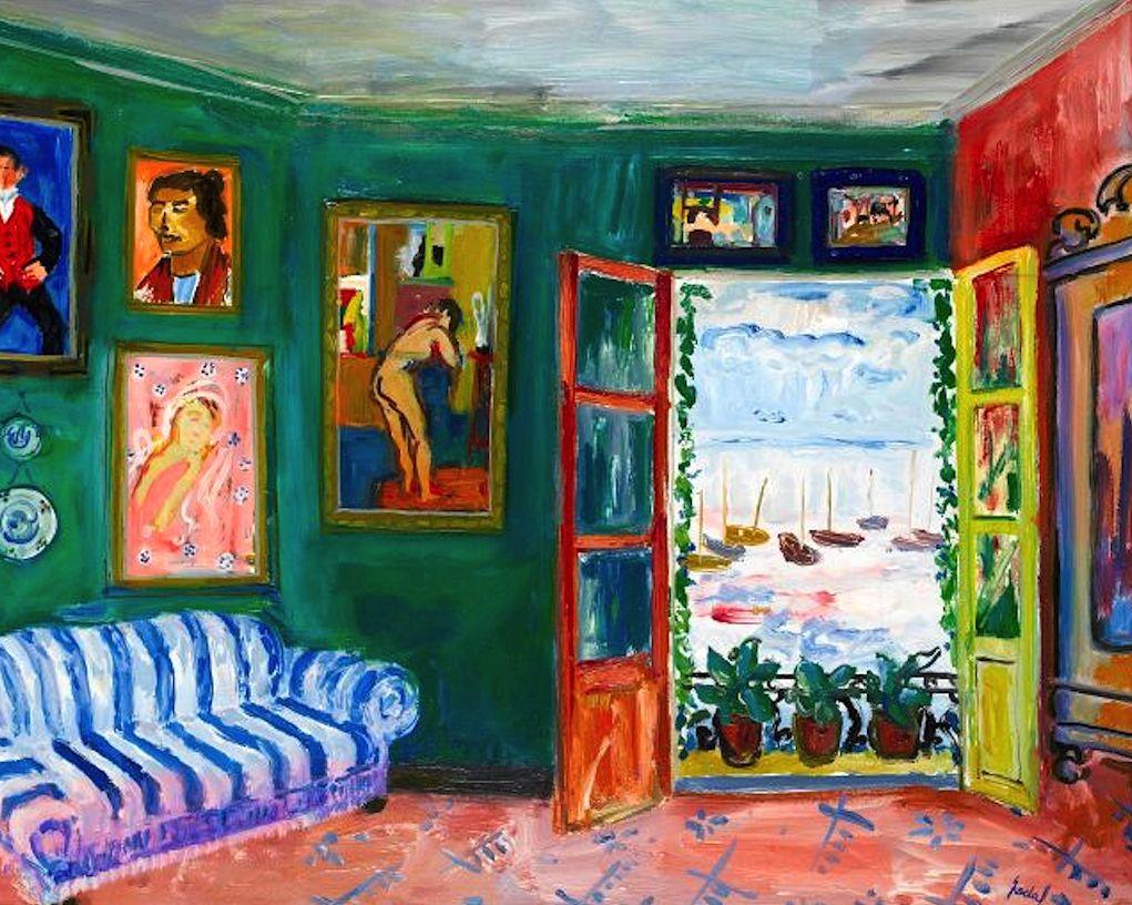 Carlos nadal spanish 1917 1998 fen tre ouverte ventana for Fenetre ouverte