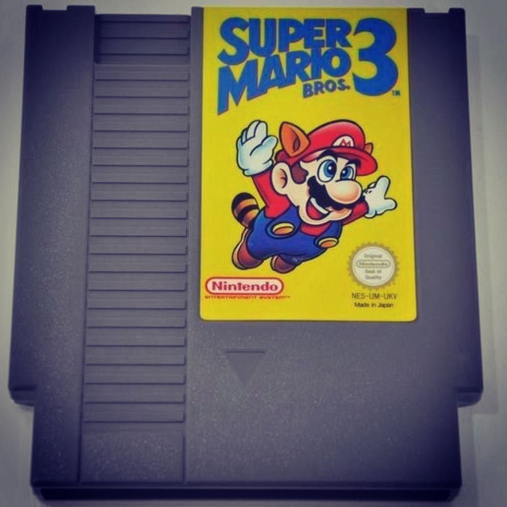 Retrogaming Uk On Instagram Super Mario Bros 3 Cartridge One Of My Favourite Games Of All Time The Things Super Mario Bros Mario Bros Super Mario World