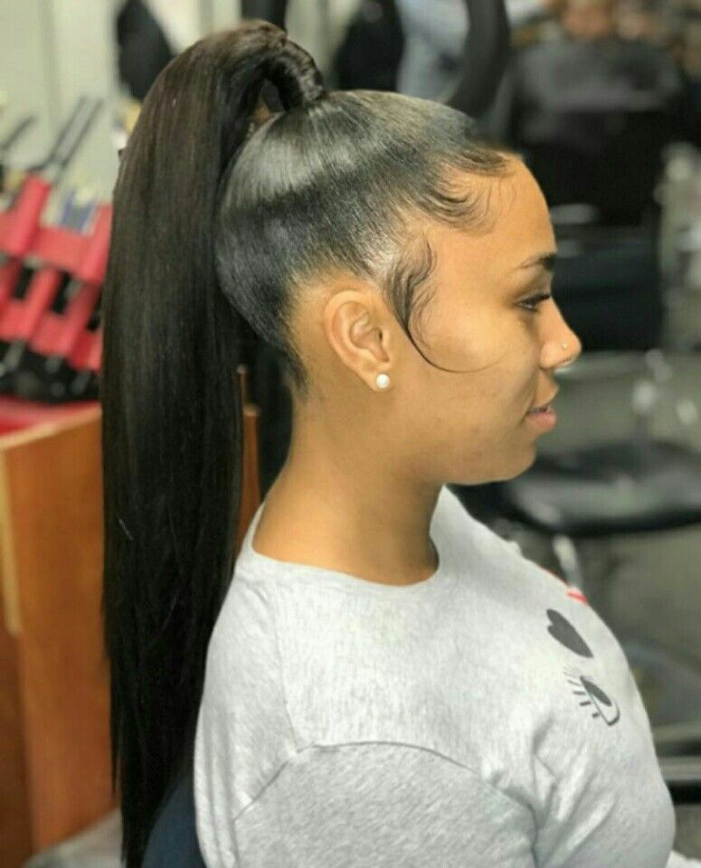 Follow Me Meanet1c For More Poppin Pins High Ponytail Hairstyles Weave Ponytail Hairstyles Long Hair Styles