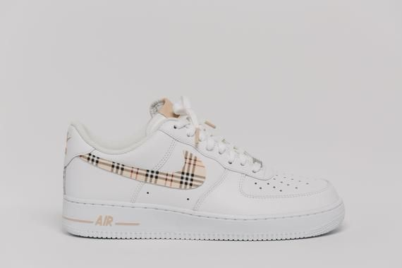 8f9cb31a9046e Nike Air Force 1 Custom Made Plaid Edition 1 All sizes Available in ...