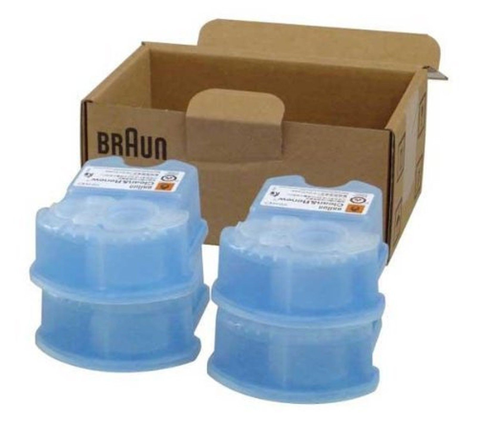 Braun Clean And Renew Cartridge Refills 4 Count 4 Refills Braun Braun Clean And Renew Cartridge Refilling Homemade Laundry Detergent
