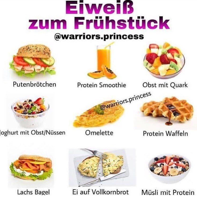 """FITNESS ABNEHMEN MUSKELAUFBAU on Instagram: """"Hey meine 💎♥️ Hier habe ich 9 Möglichkeiten mit Eiweiß für das Frühstück 🙏🏽😍 Wer frühstückt auch so gerne wie ich?  Und was frühstückst du…""""  – Abnehmen"""