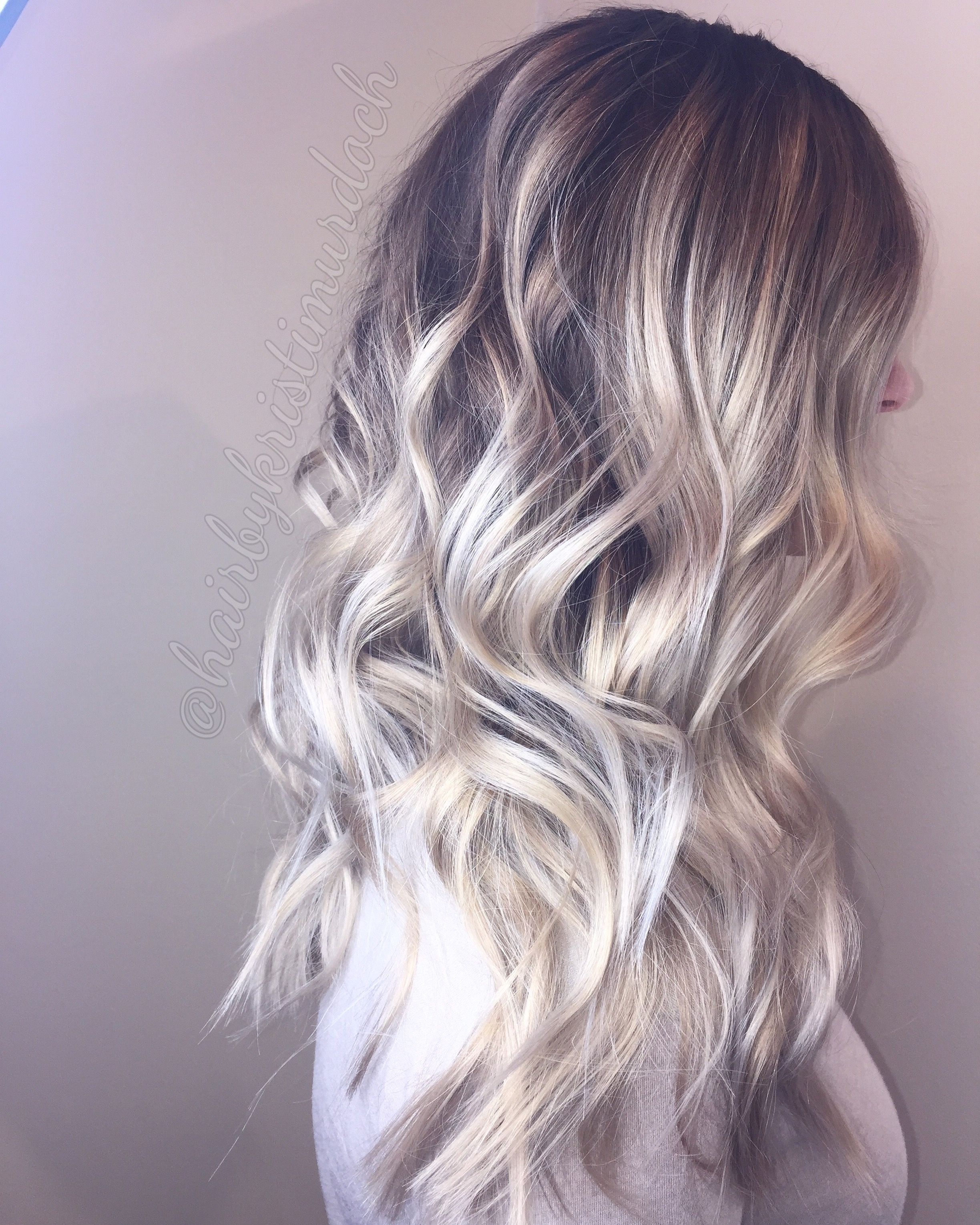 Eclipse 2017 En Houston >> Balayage Icy Blonde