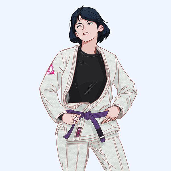 Artstation Jiujitera Seong Hun Cho Martial Arts Girl Karate Martial Arts Jiu Jitsu Girls