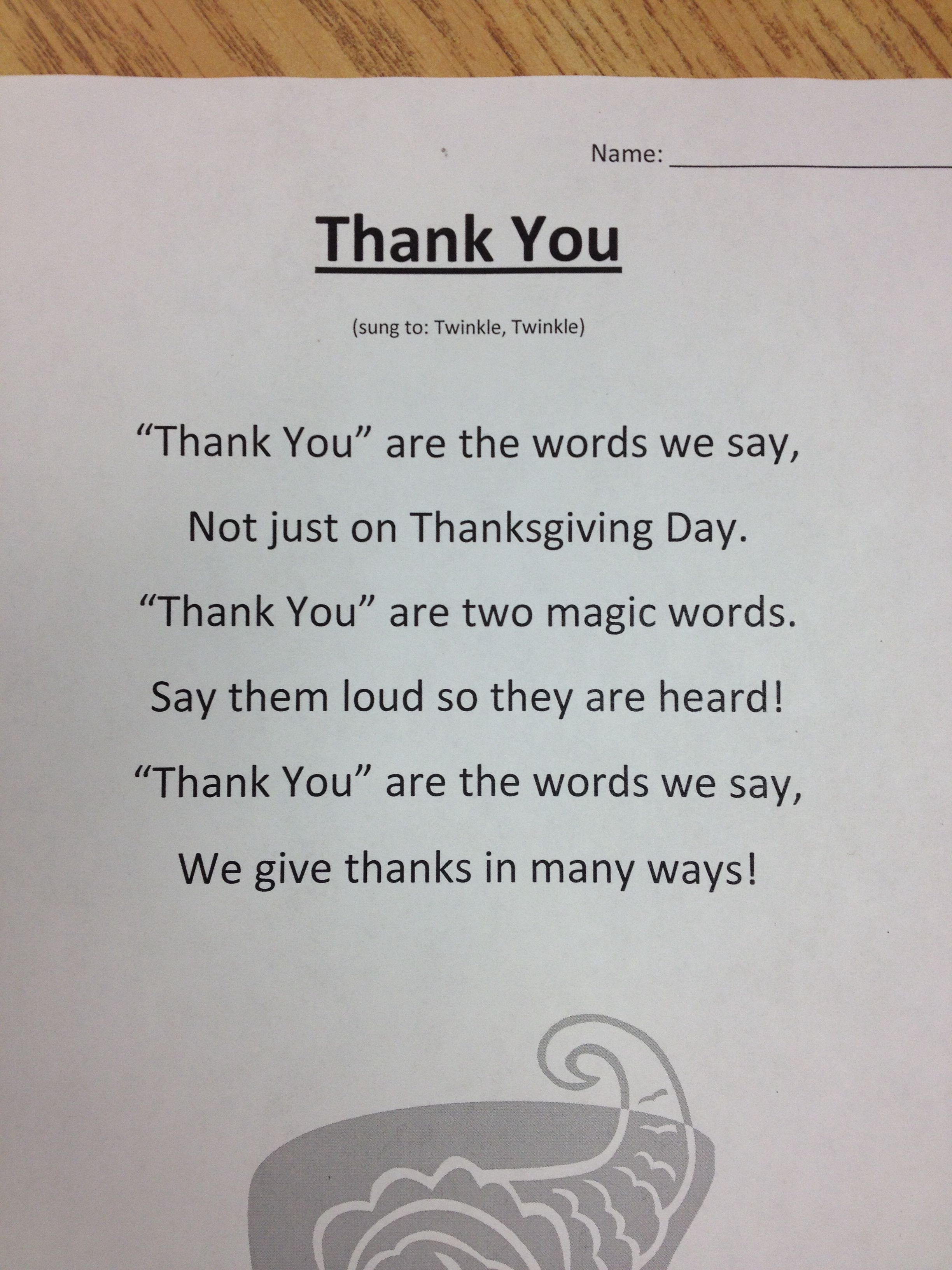 Latest  Thanksgiving Poems For Kids of the Month From Uploaded by user