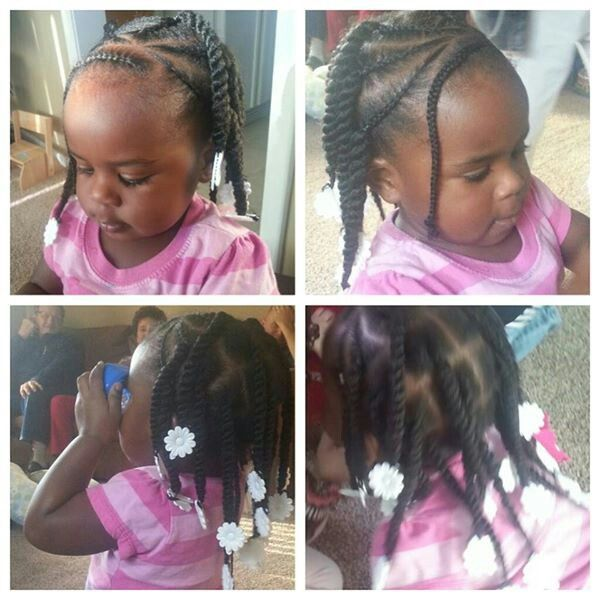 Cute & Simple Hair for little ones who hate sitting long
