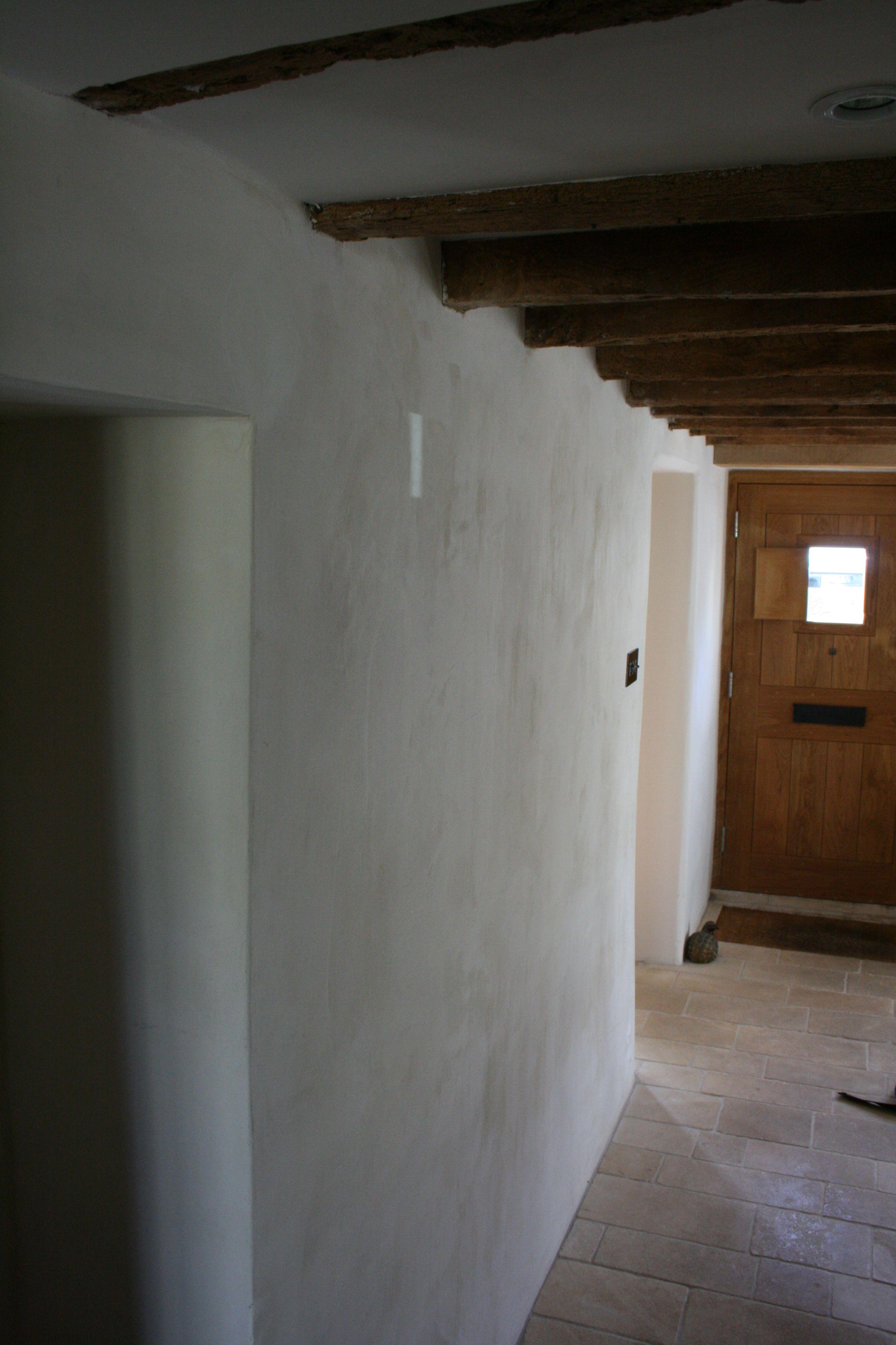 Limewash Walls Cottage Interiors Cottage Bath Stucco Walls