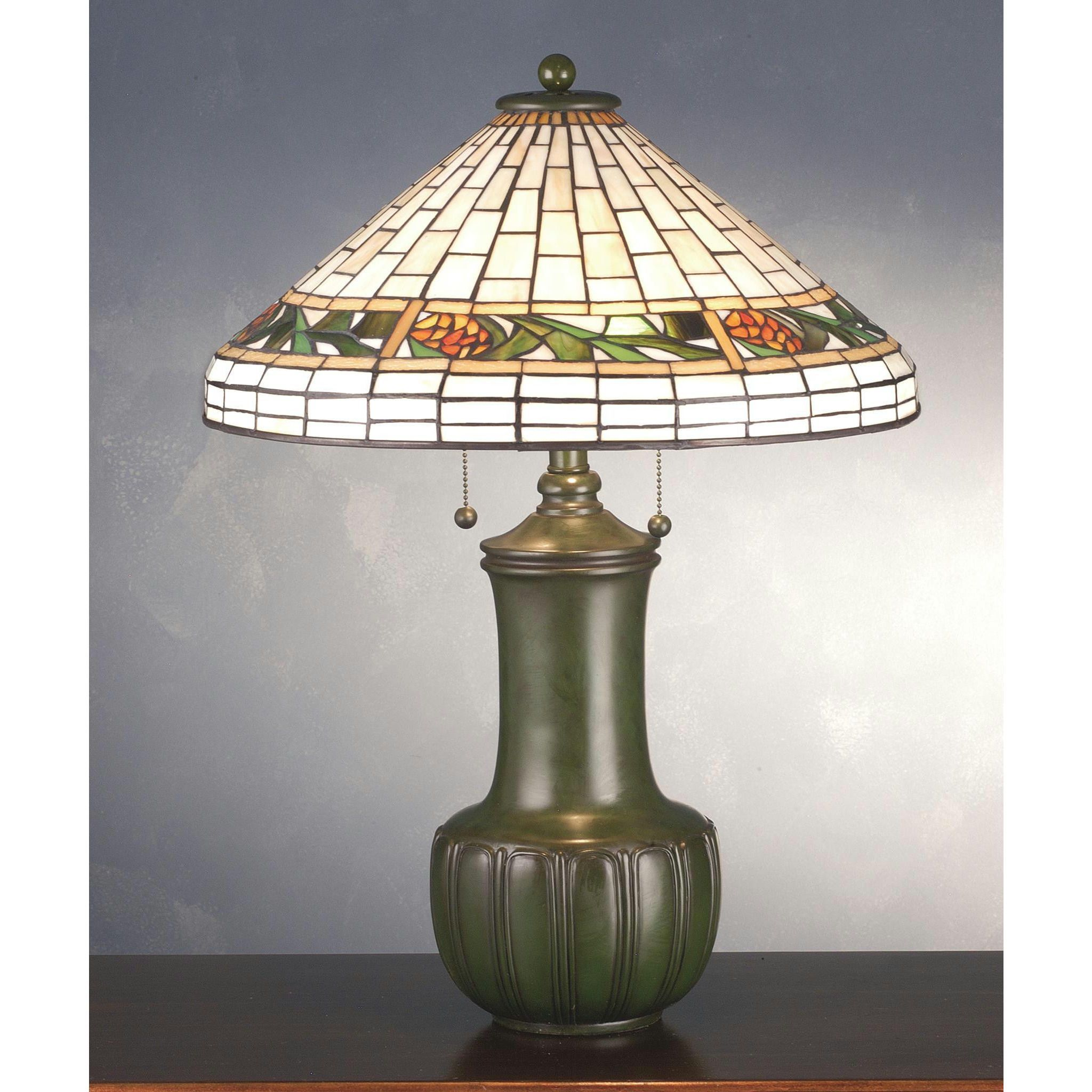 25 Inch H Bungalow Pine Cone Table Lamp Products Tiffany