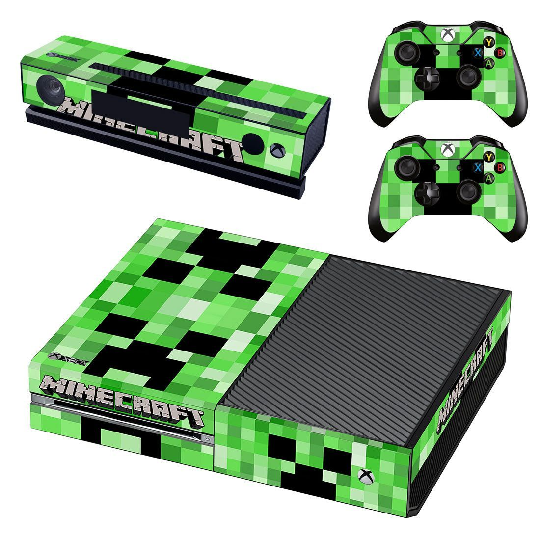 minecraft xbox one skin decal for console and 12 controllers  Xbox
