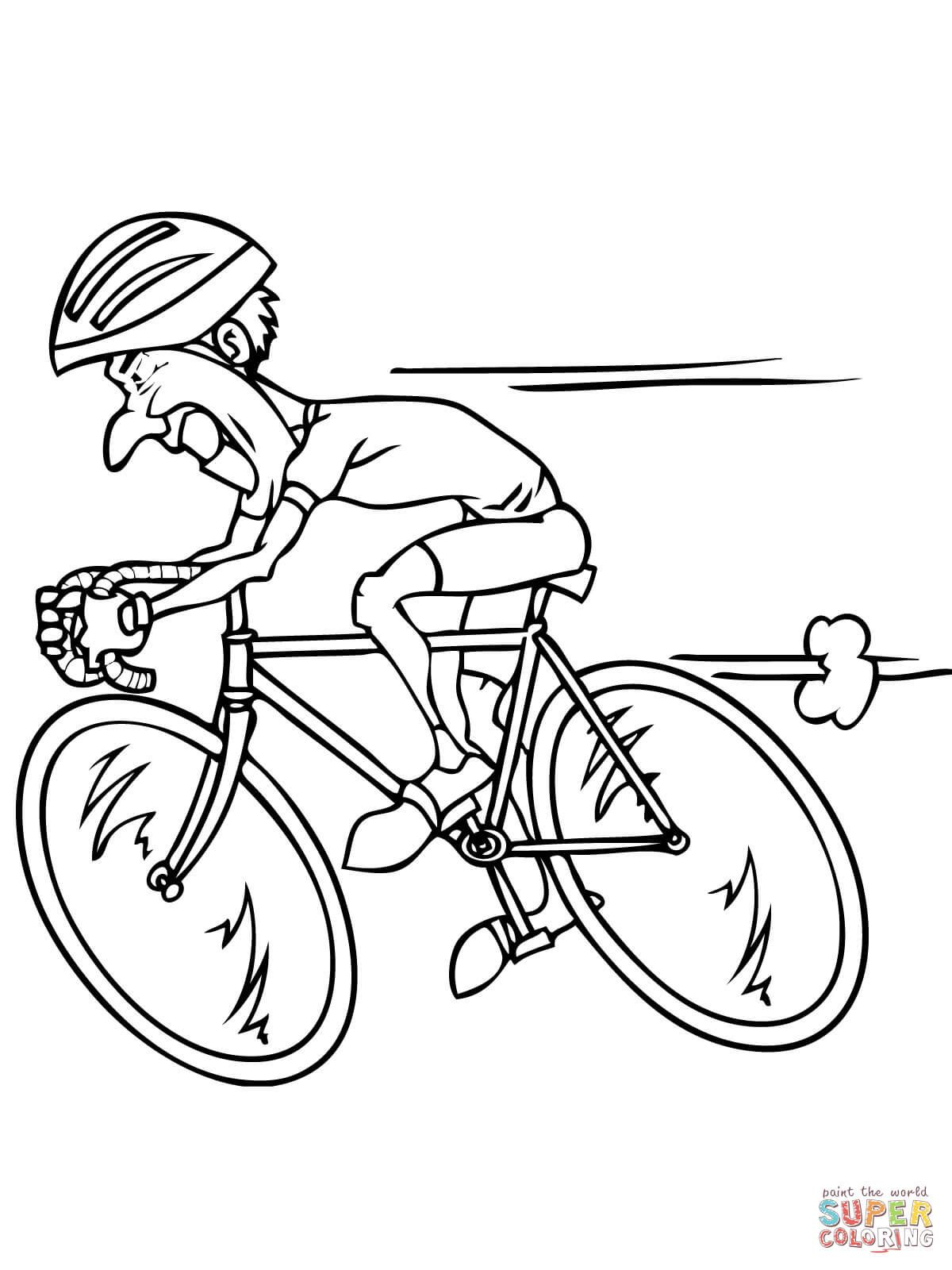 Risultati Immagini Per Bicicletta Da Corsa Da Colorare Digital