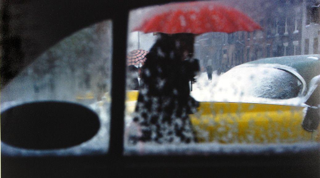 Red Umbrella - Saul Leiter.