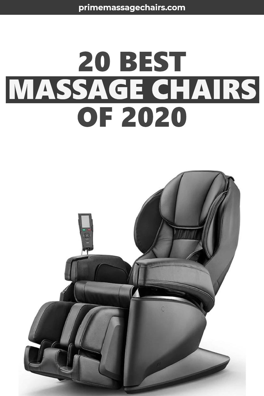 20 Best Massage Chairs Of 2020 Massage Chairs Good Massage Massage