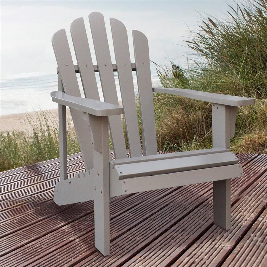 Shine Company Westport Wood Stationary Adirondack Chair S With