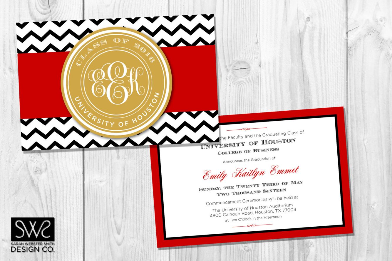 Graduation invite ideas | Ole Miss❤ | Pinterest