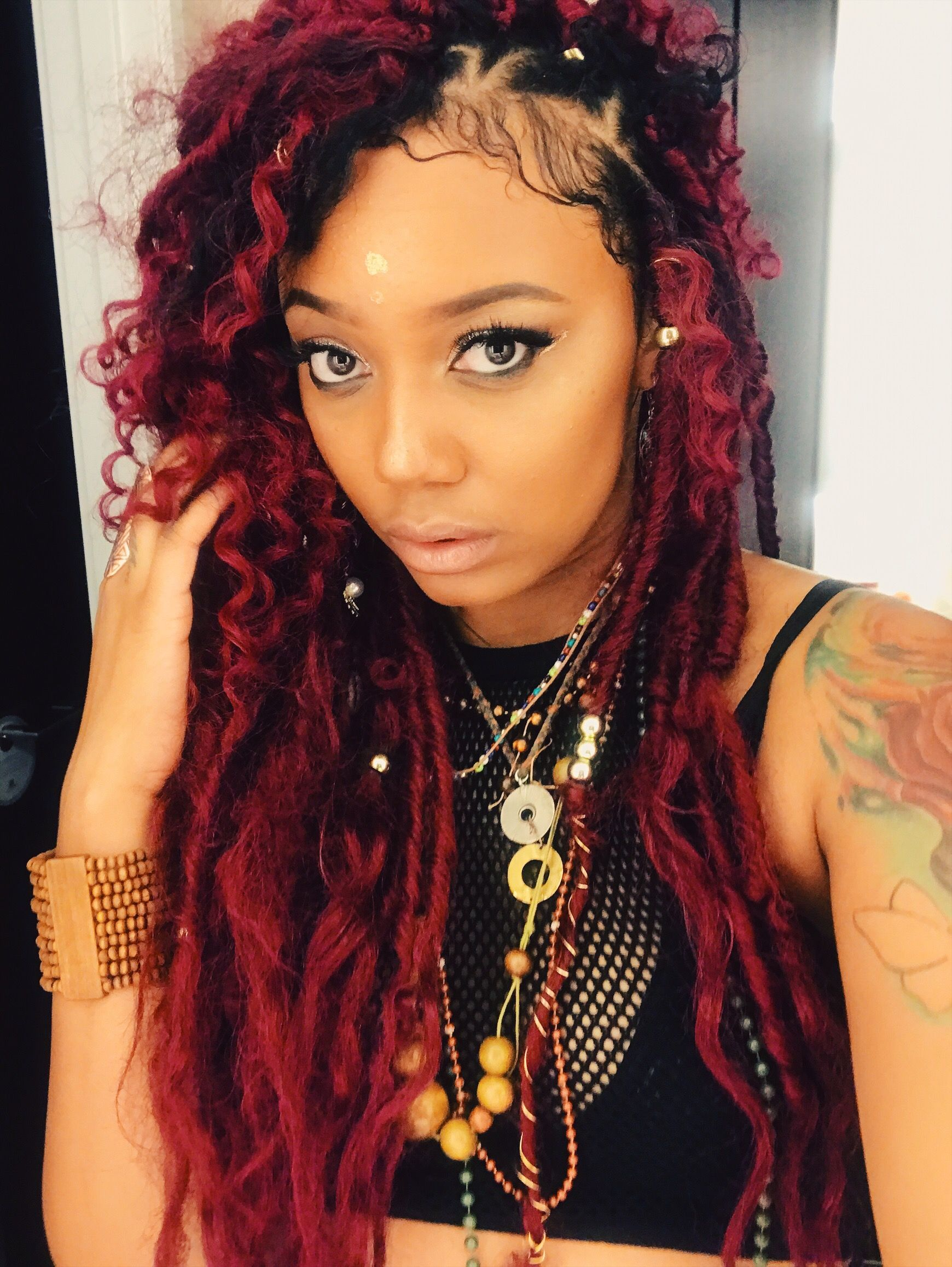 Gypsylocs Redhair Protective Styles Stl Boho Hairstyles