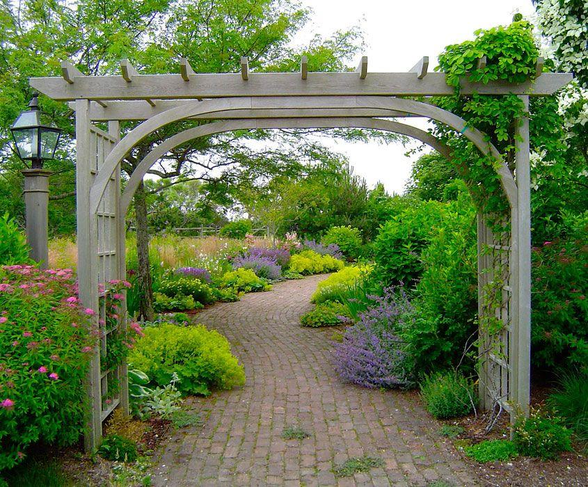 A Nantucket Garden Path! | Environmental design, Garden ...