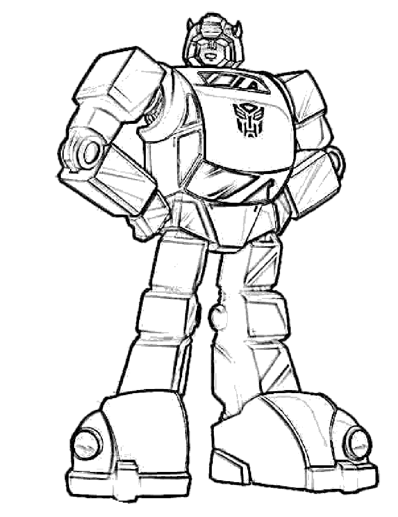 Bumblebee Transformers Coloring Pages Inspire Kids Printable