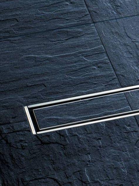 Granit Schiefer rutschfeste schiefer fliesen in der begehbaren dusche http