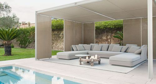 Cabanne By Bestetti Associati For Paola Lenti | Design : Furniture ... Cabanne Gartenpavillon Paola Lenti Bestetti Associati