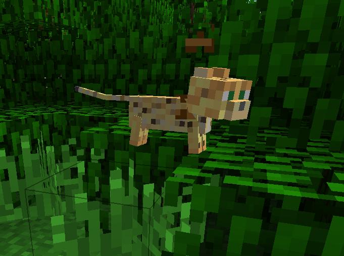 Baby Ocelot Minecraft