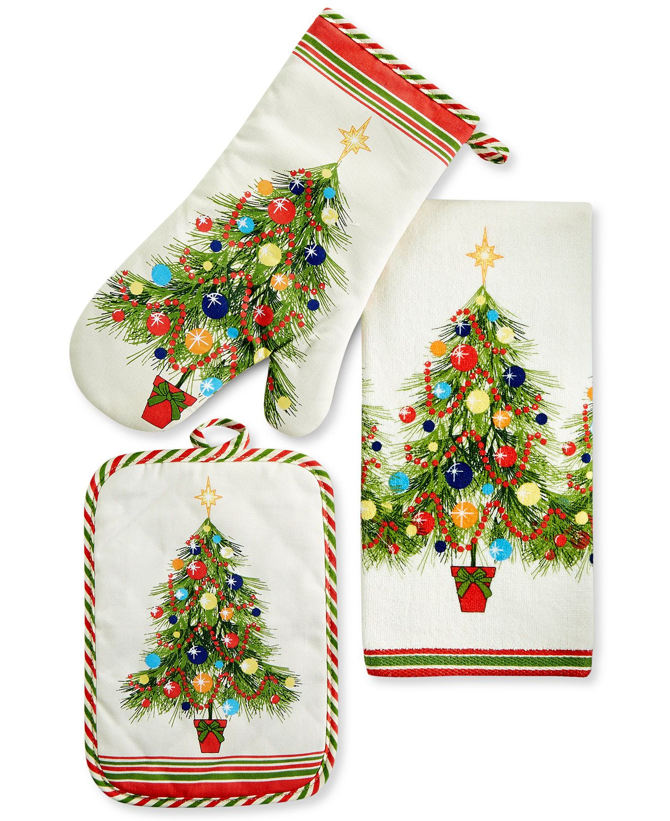 Fiesta Christmas Tree Kitchen Linens Collection - Fiesta - Dining ...